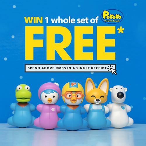 Win a set of Flipper Pororo Collection worth RM119++!
