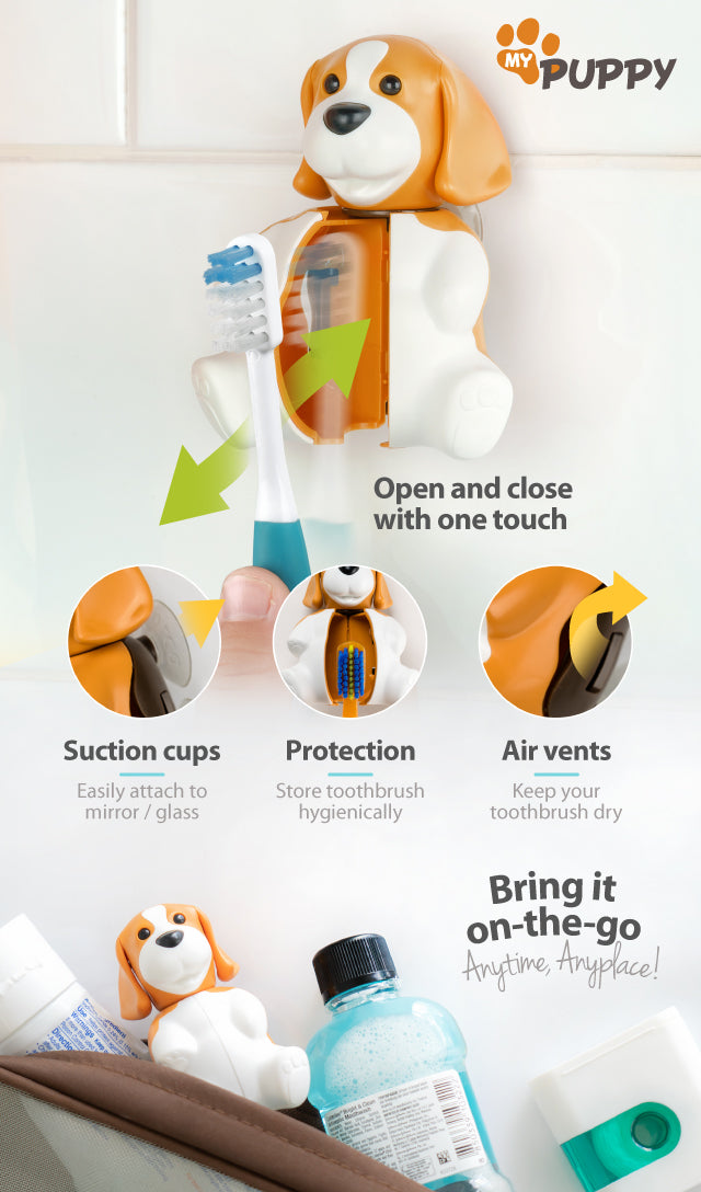 Flipper Beagle Toothbrush Cover Benefits