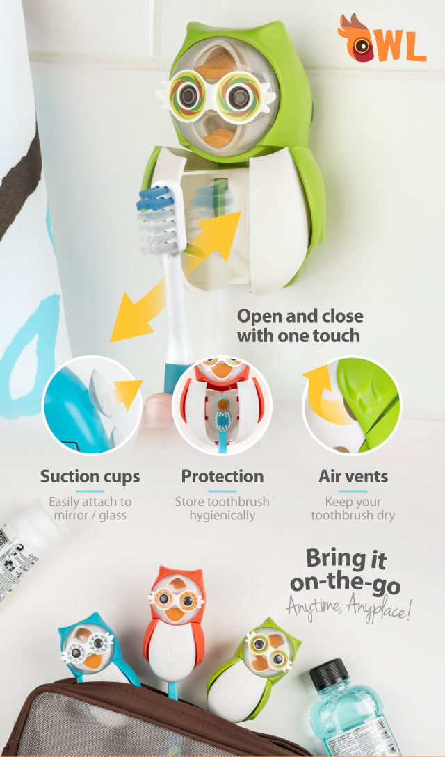 Flipper Owl Toothbrush Cover Benefits