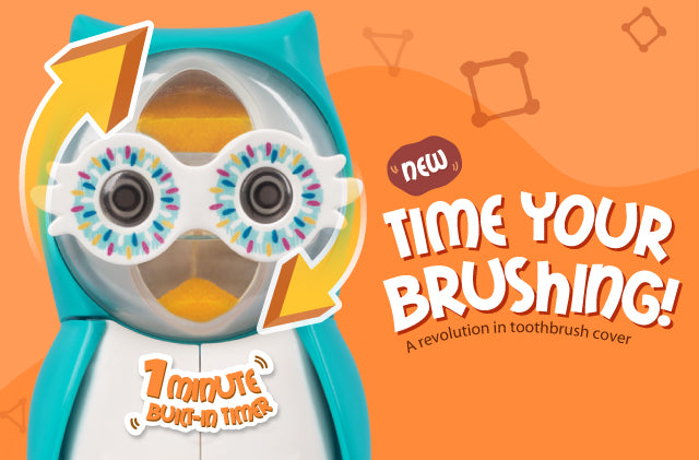 Flipper Owl Time Your Brushing!