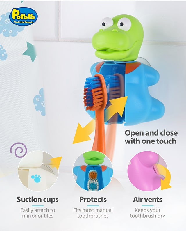 Pororo Crong toothbrush cover product benefits