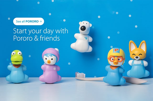 Pororo & Friends Toothbrush Cover