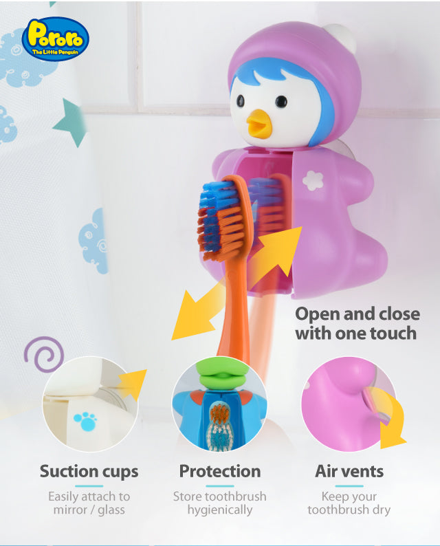 Pororo Petty toothbrush cover