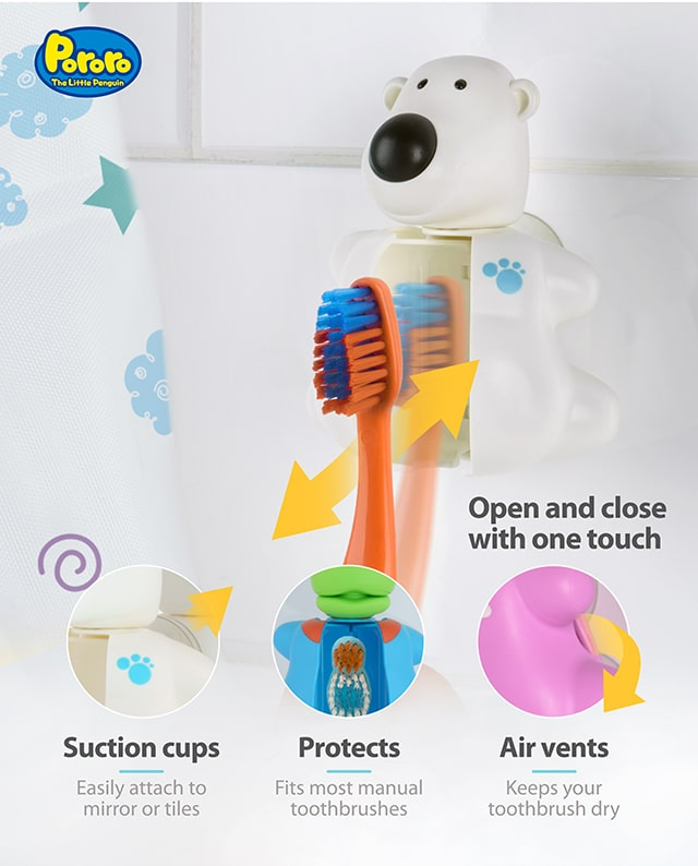 Pororo Poby toothbrush cover product benefits