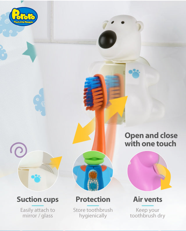 Pororo Poby toothbrush cover