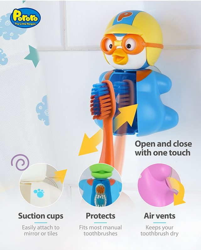 Pororo Toothbrush Cover