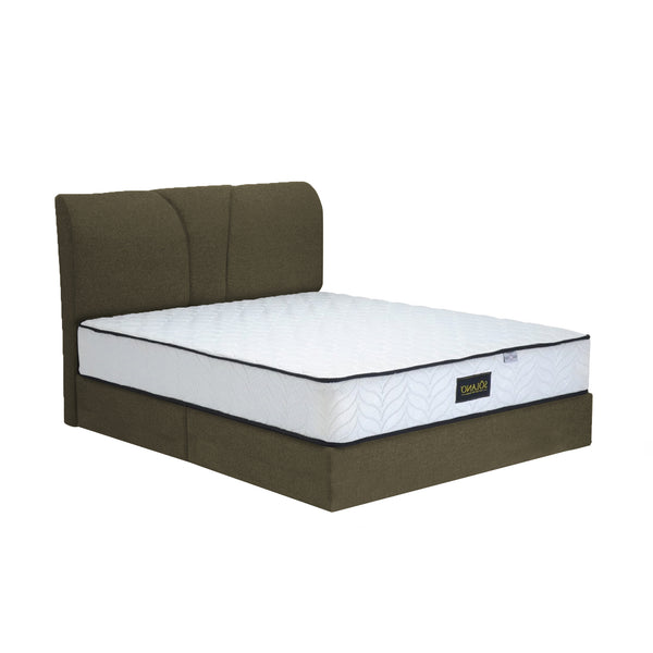 "Solano Furniture 8"" divan Most selected for Homestay Bedframe-Gani  (without mattress)"