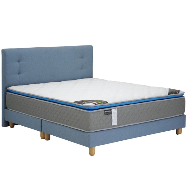 "Solano Most Selected by Homestays Bed Frame, Leon 6"" divan, 2 years warranty  (without mattress)"