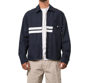 Limited Edition Birdwell Canvas Jacket - Navy White
