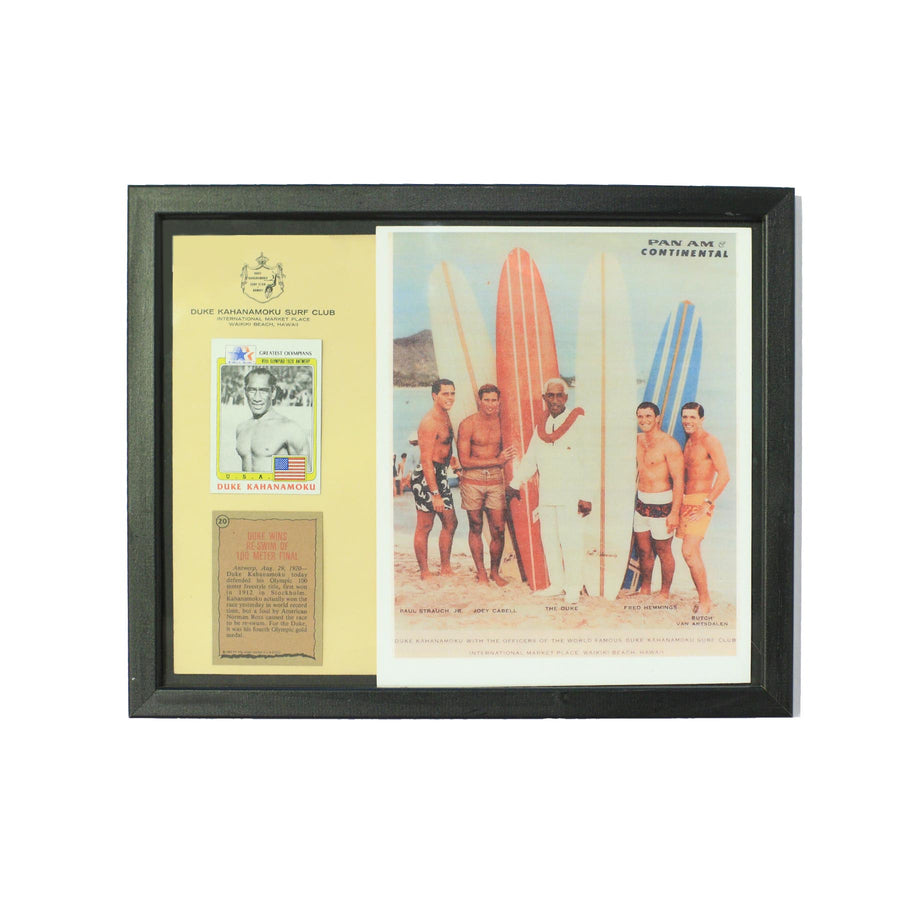 Duke Kahanamoku Framed Team Collectible