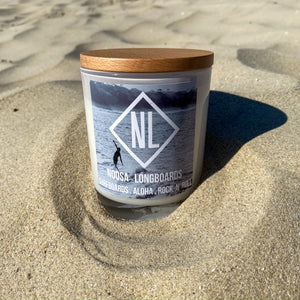 Noosa Longboards Surfer Jar Candle