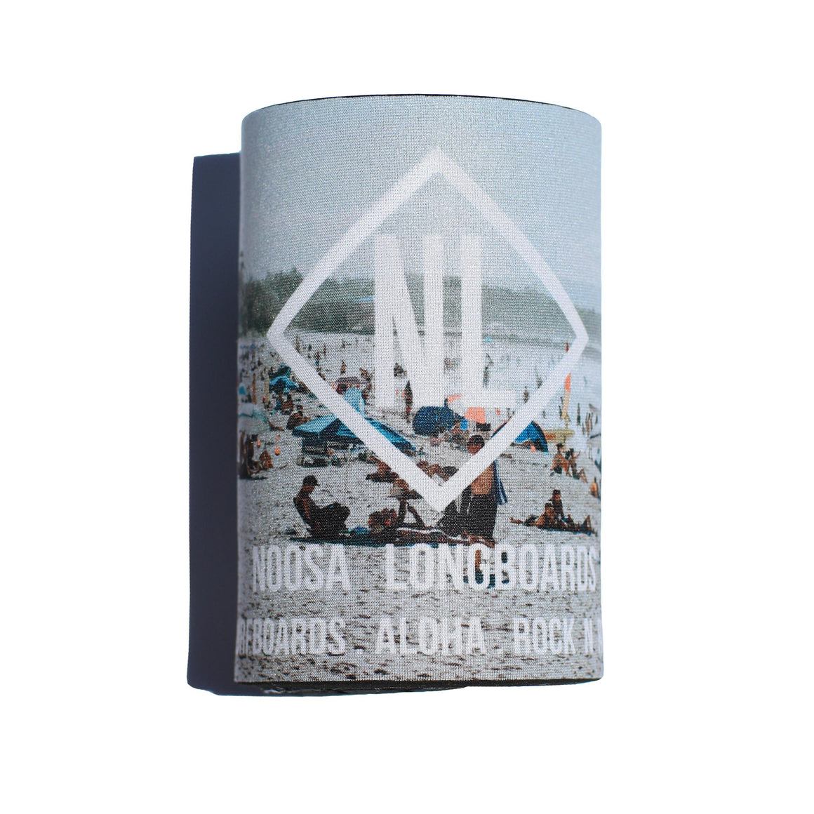 "Noosa Longboards ""Main Beach"" Stubby Cooler"