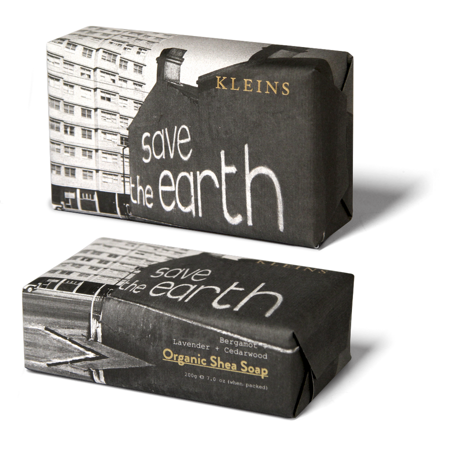 Kleins Save the Earth Organic Shea Soap - 200g