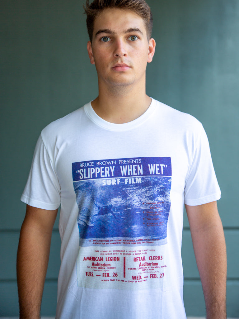 Bruce Brown Slippery When Wet Tee