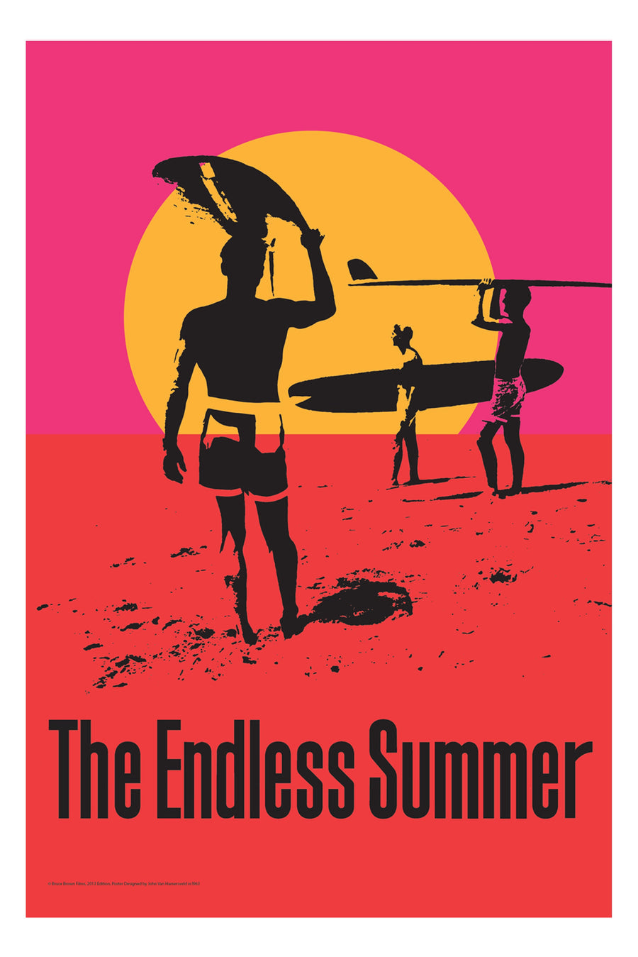 A4 Bruce Brown Endless Summer