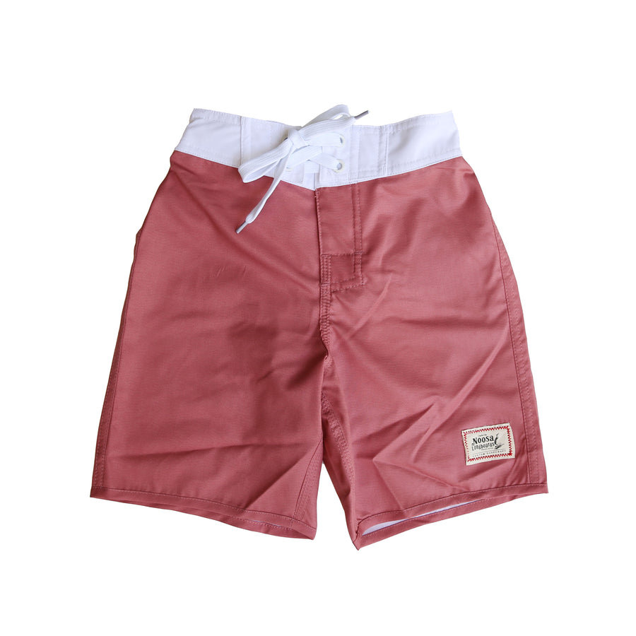 Kids NL Retro Board Short Maroon