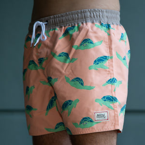 NL Green Turtle Swim Trunk