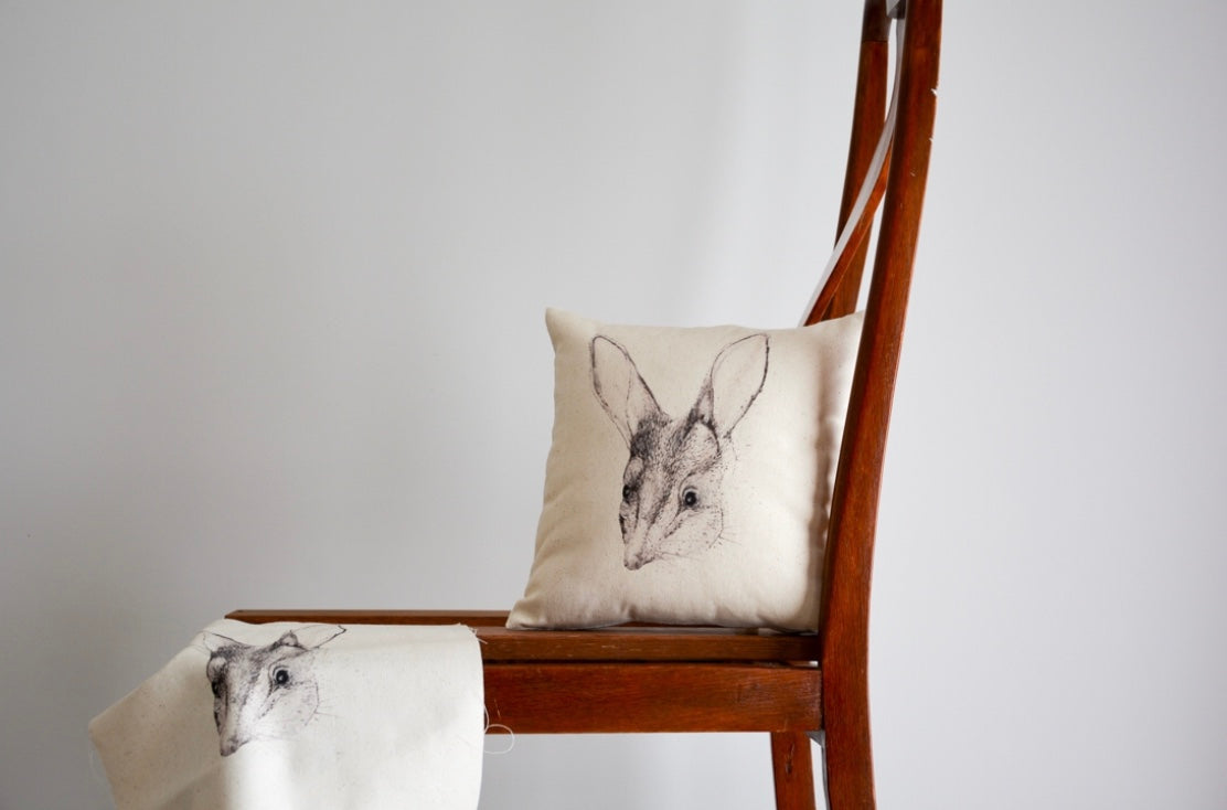 Bilby - Organic Cotton and Hemp Cushion