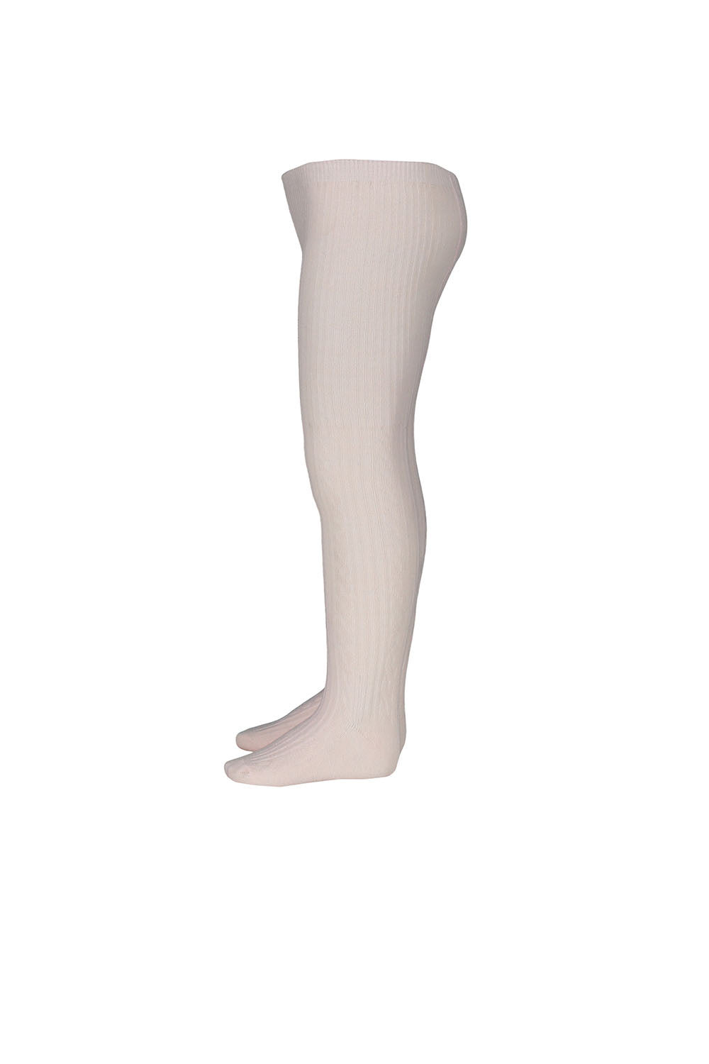 Jacquard Tights - Pale Rose