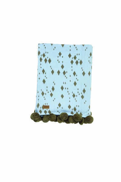 AW17 Kip and Co Island Home Pompom Throw