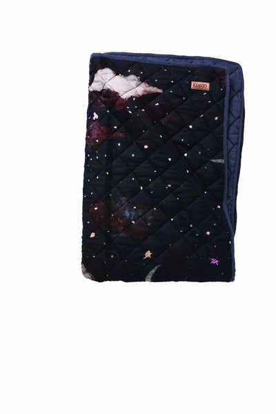 AW17 KIP&CO STARRY NIGHT QUILTED BEDSPREAD - COT