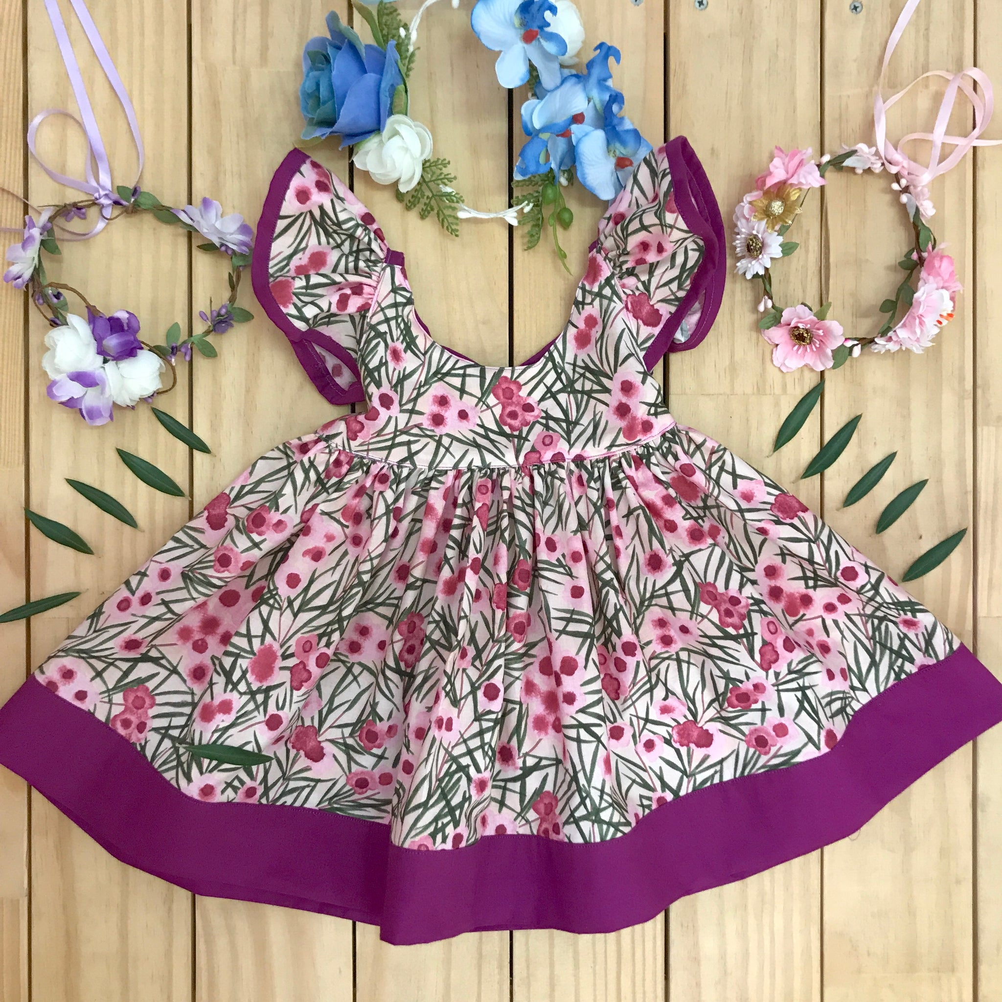 Wax Flowers Dress