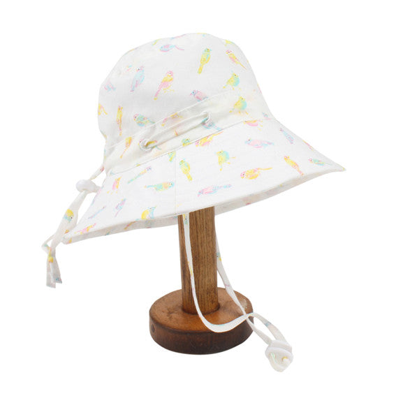 Fox and Finch Birdie Print Sunhat