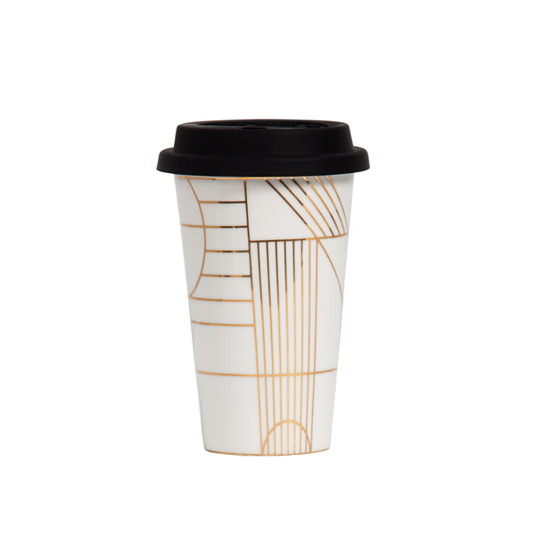 Gold Deco Takeaway Cup