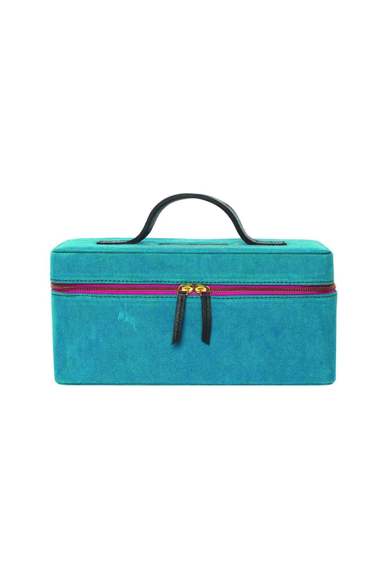 AW17 KIP&CO TEAL TOILETRY CASE