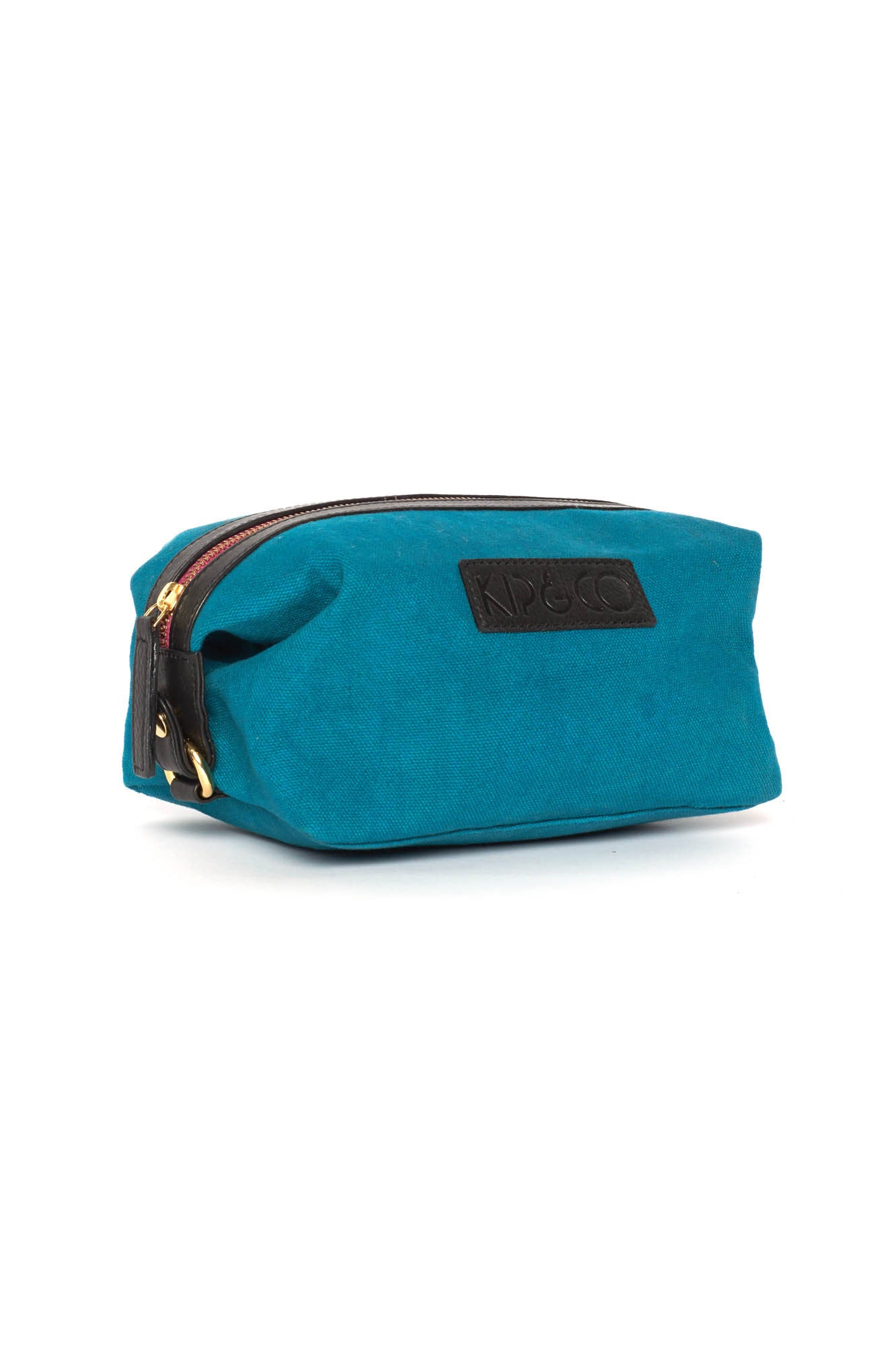 AW17 KIP&CO TEAL TOILETRY BAG