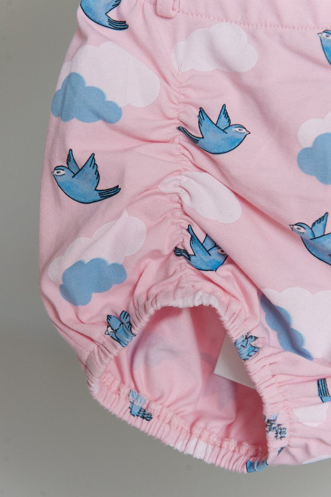 Stretched Ruched Shorties 'My Baby Bluebird'