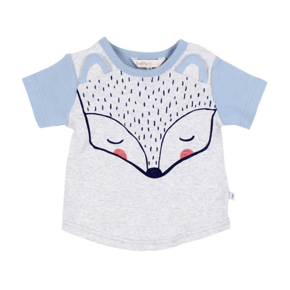 Fox and Finch Alaska Fox Face Tee