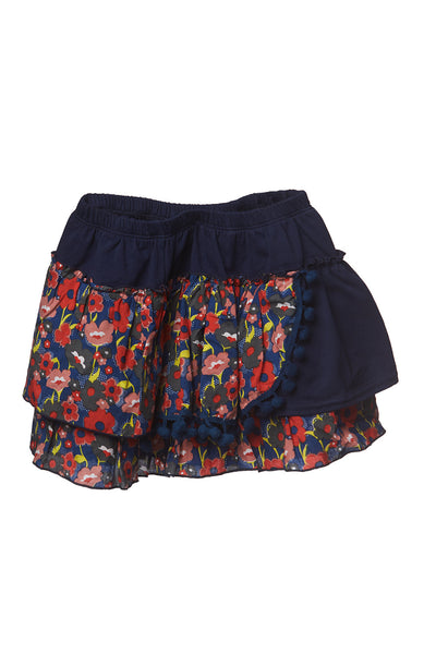 AW17 Mii Love Mu Frill Skirt Poppy