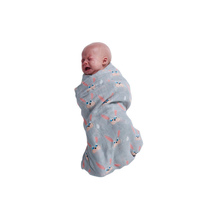 SS16 Hop and Love Child Nap Wrap (pack of 2 swaddles)