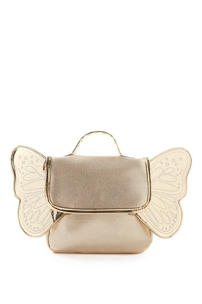 Butterfly Back Pack - Gold