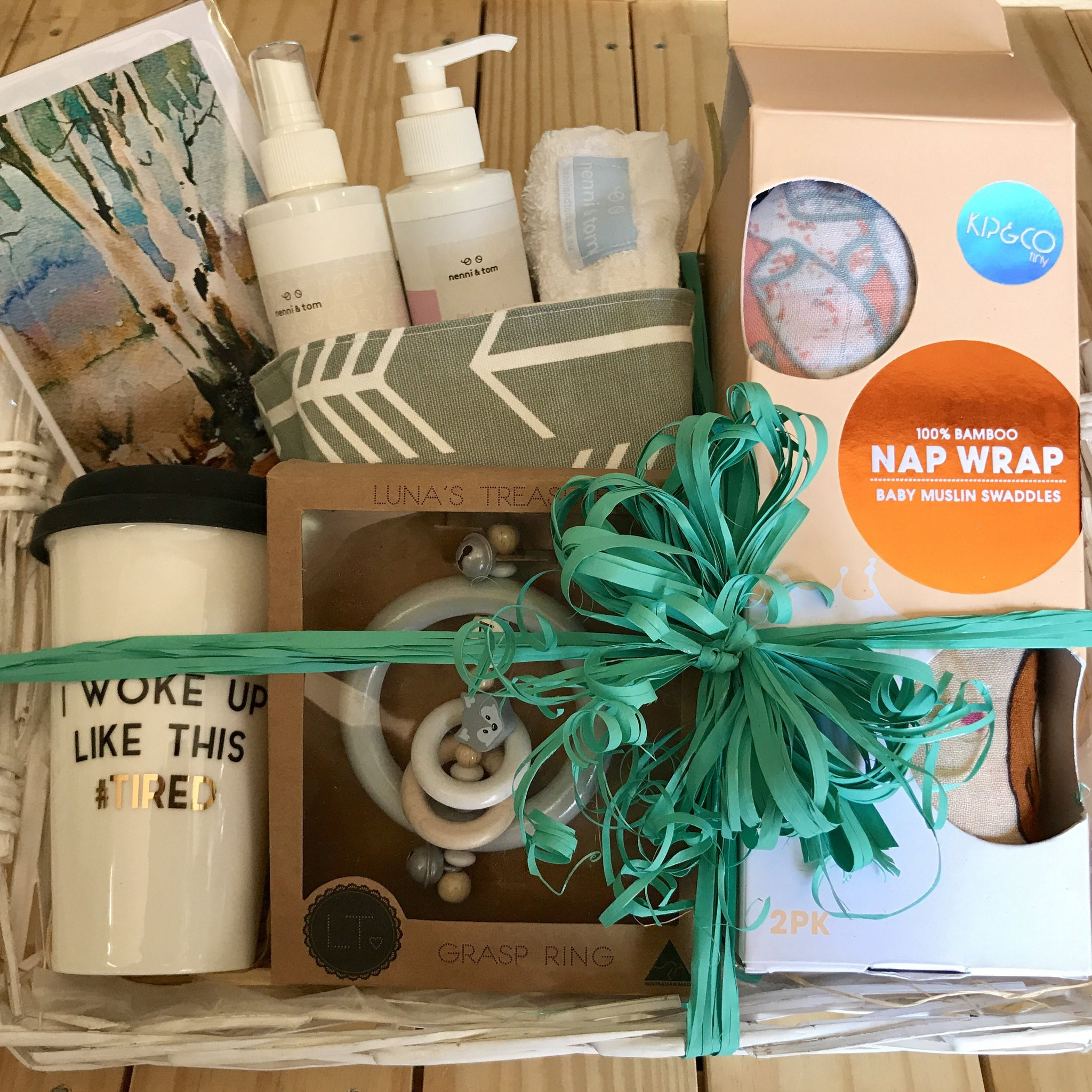 InstaGift - Gender Neutral Baby Shower Hamper