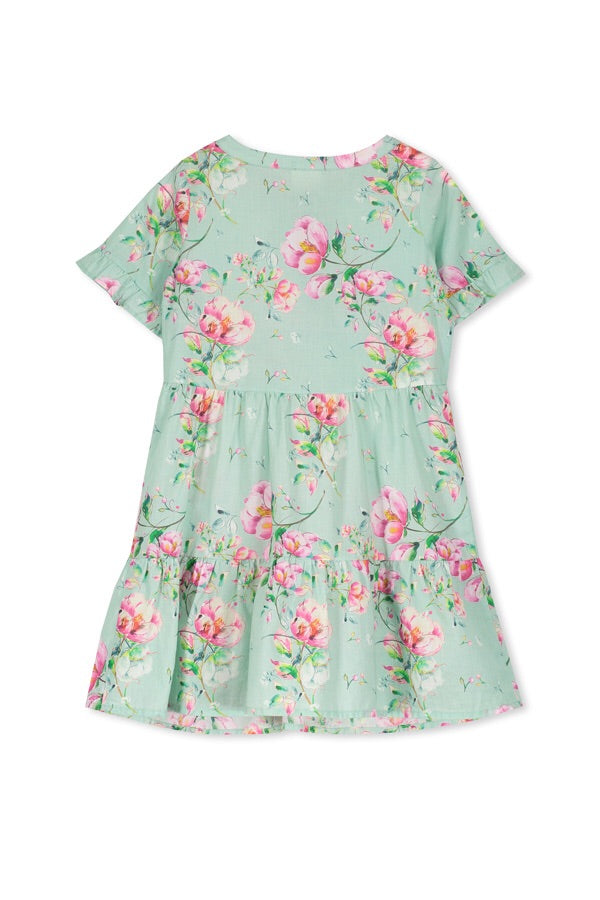 Milky Pretty Floral Dress