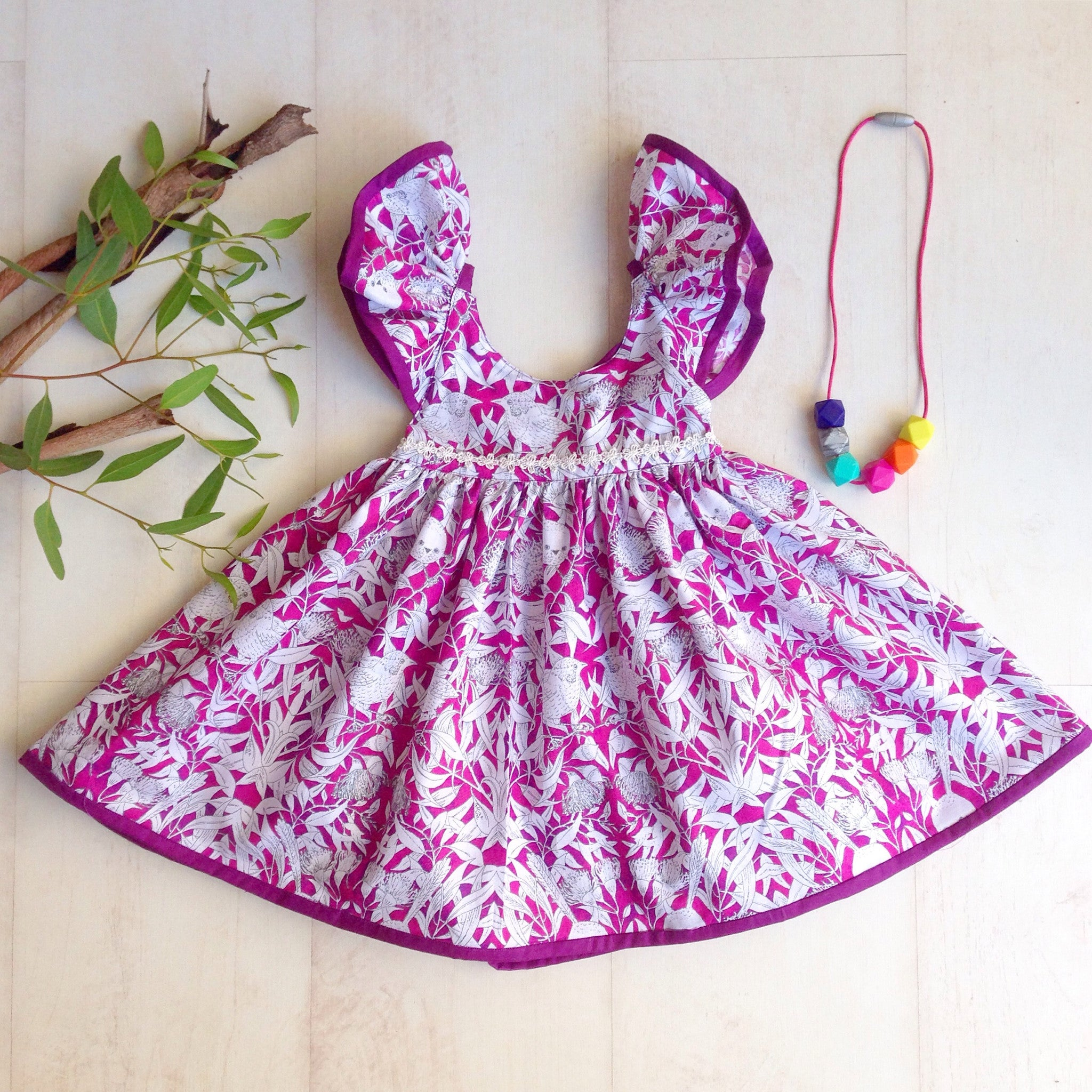 Wren and Eucalyptus Dress