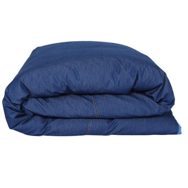 AW17 Kip and Co Dark Denim Quilt Cover