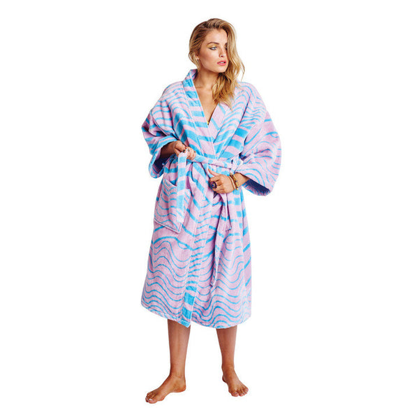 AW17 KIP&CO SLITHER VELOUR BATHROBE