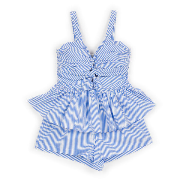 Marlo Kids Riviera Striped Romper