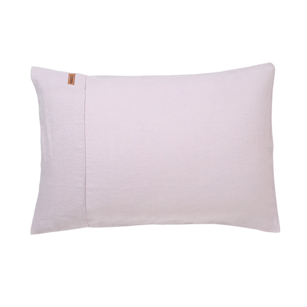 SS16 Lavender Fog Linen Pillow Case Set