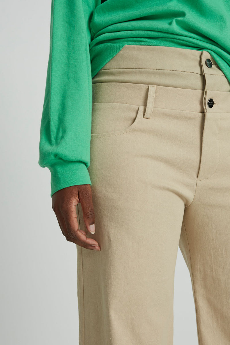 Double Trouble Pant in Sand