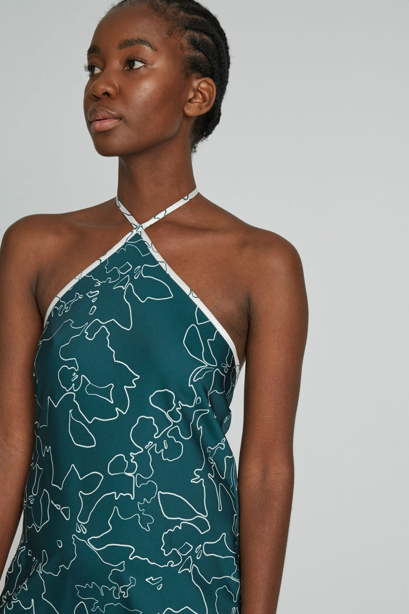 Pining For You Dress in Pine Swirl