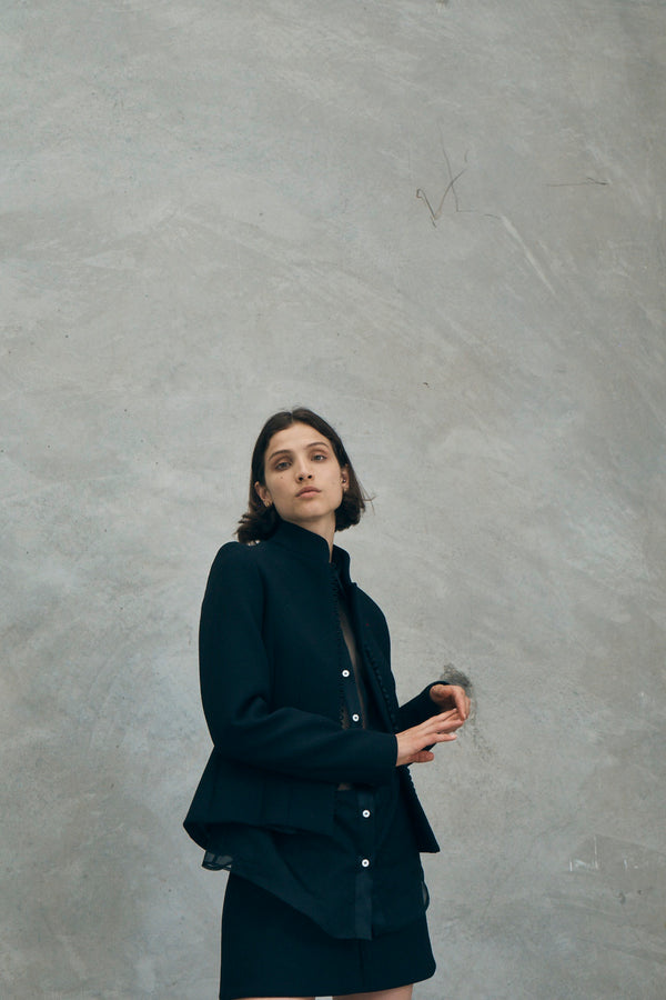 Sunday Kind Of Love Jacket in Black
