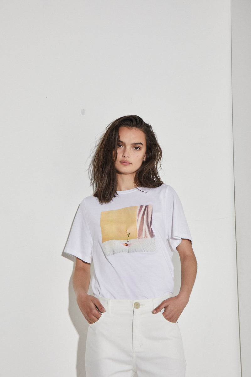 Billie T-Shirt In White