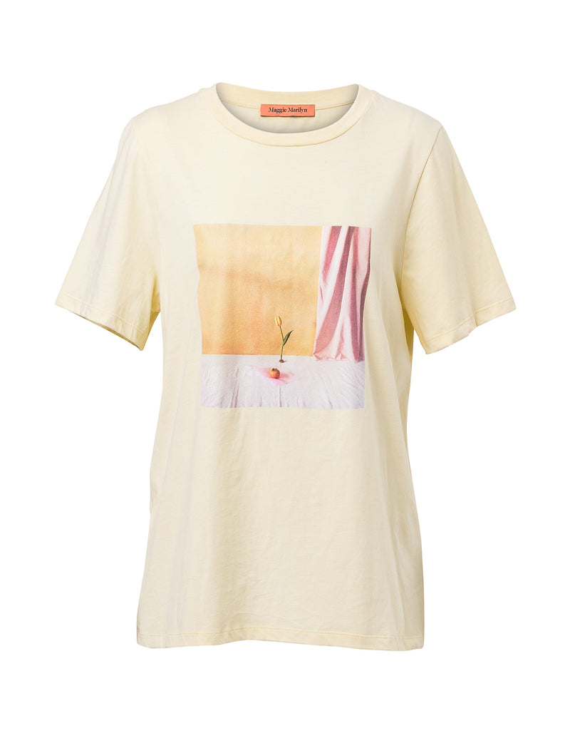 Billie T-Shirt - Banana Yellow