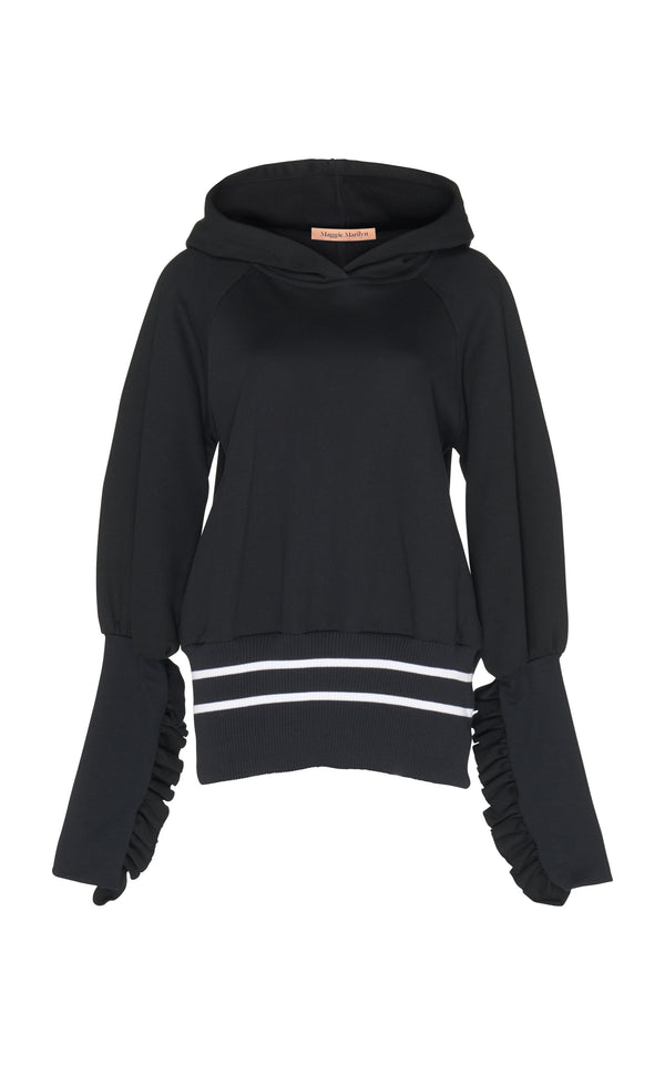 Way Past Curfew Hoodie - Black
