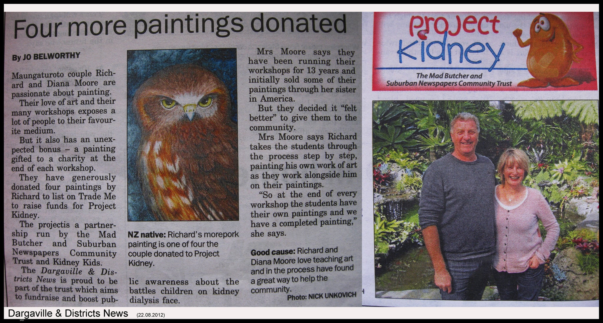 DARGAVILLE & DISTRICTS NEWS 22nd August 2012