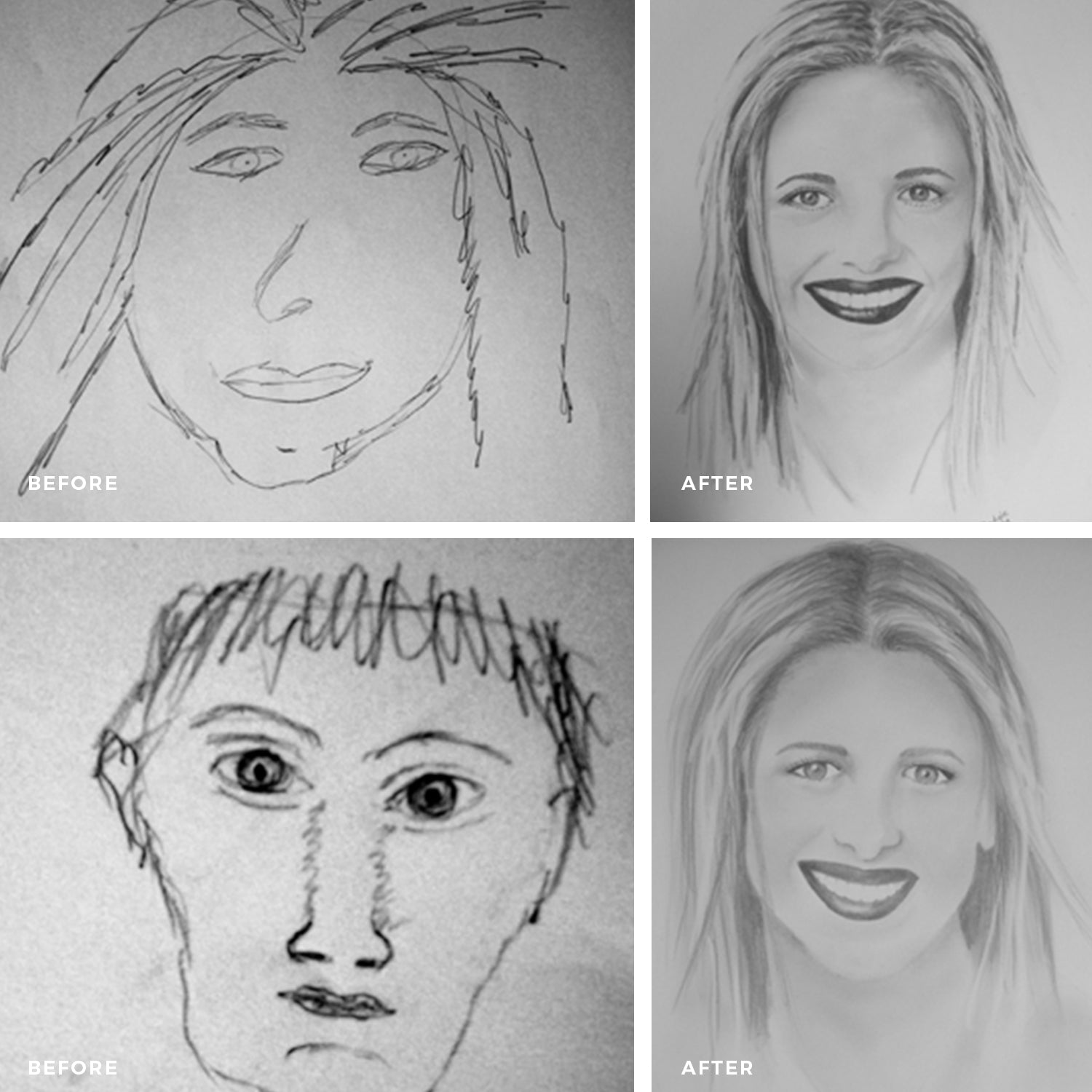 Learn To Draw Portraits Weekend Workshop